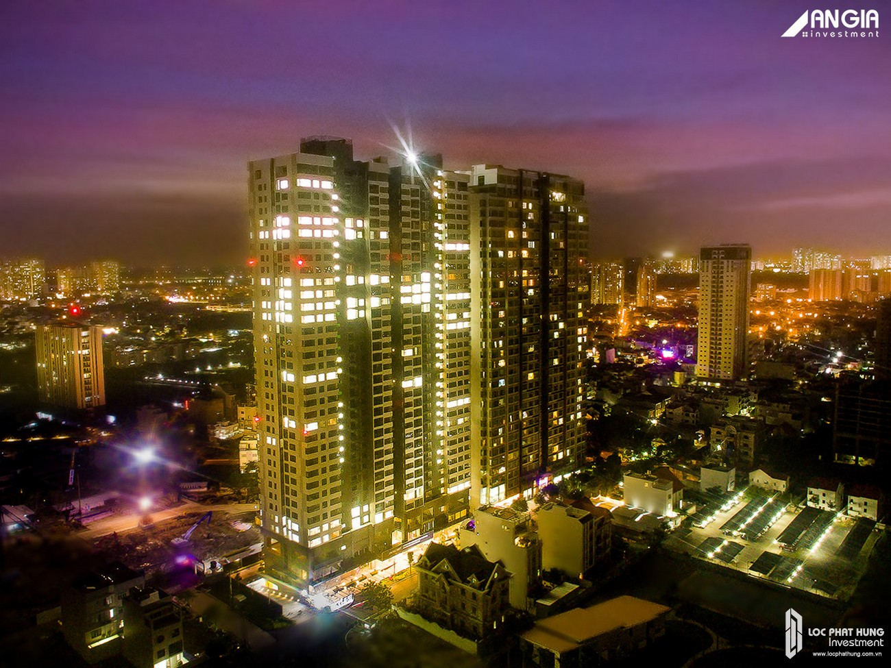Mua bán cho thuê căn hộ chung cư An Gia Skyline Quận 7 - Hình ảnh thực tế AnGia Skyline