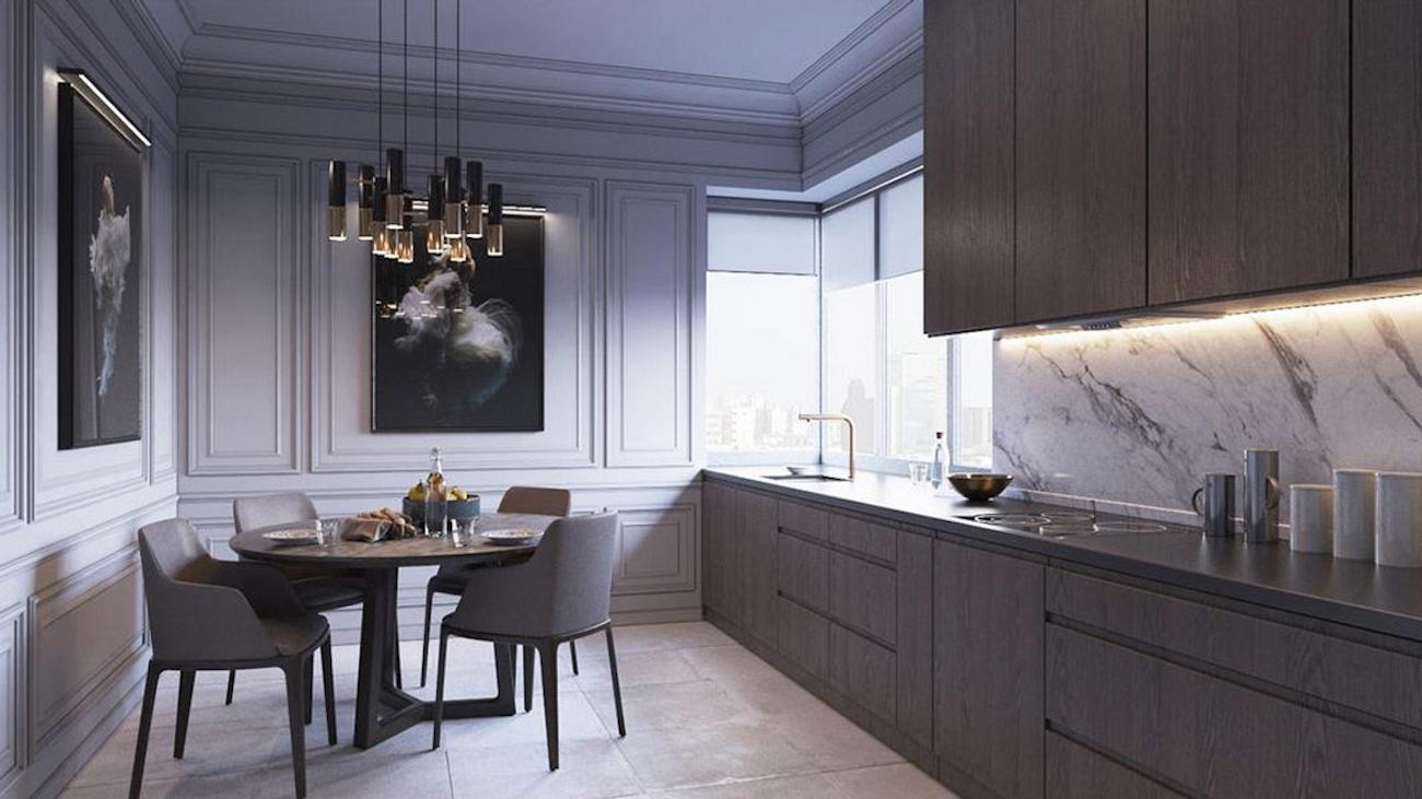 Nhà mẫu dự án căn hộ chung cư Thủ Thiêm Dragon Quận 2 Đường Quách Giai chủ đầu tư Thủ Thiêm Group