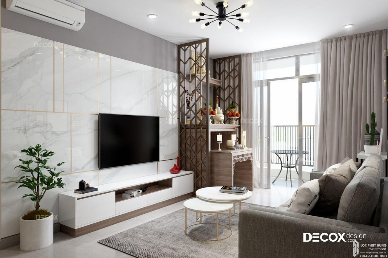Nhà mẫu dự án Căn Hộ chung cư Green Square Dĩ An Đường QL 1K chủ đầu tư TBS Land