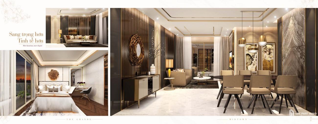 Nhà mẫu dự án căn hộ chung cư The Grande Phú Mỹ Hưng Quận 7 Đường Nguyễn Lương Bằng chủ đầu tư Phú Mỹ Hưng