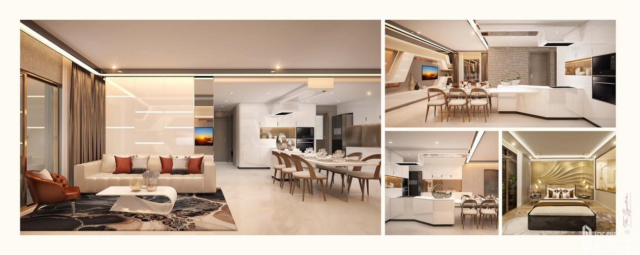 Nhà mẫu dự án căn hộ chung cư The Signature Phú Mỹ Hưng Quận 7 Đường Đường 16 chủ đầu tư Phú Mỹ Hưng