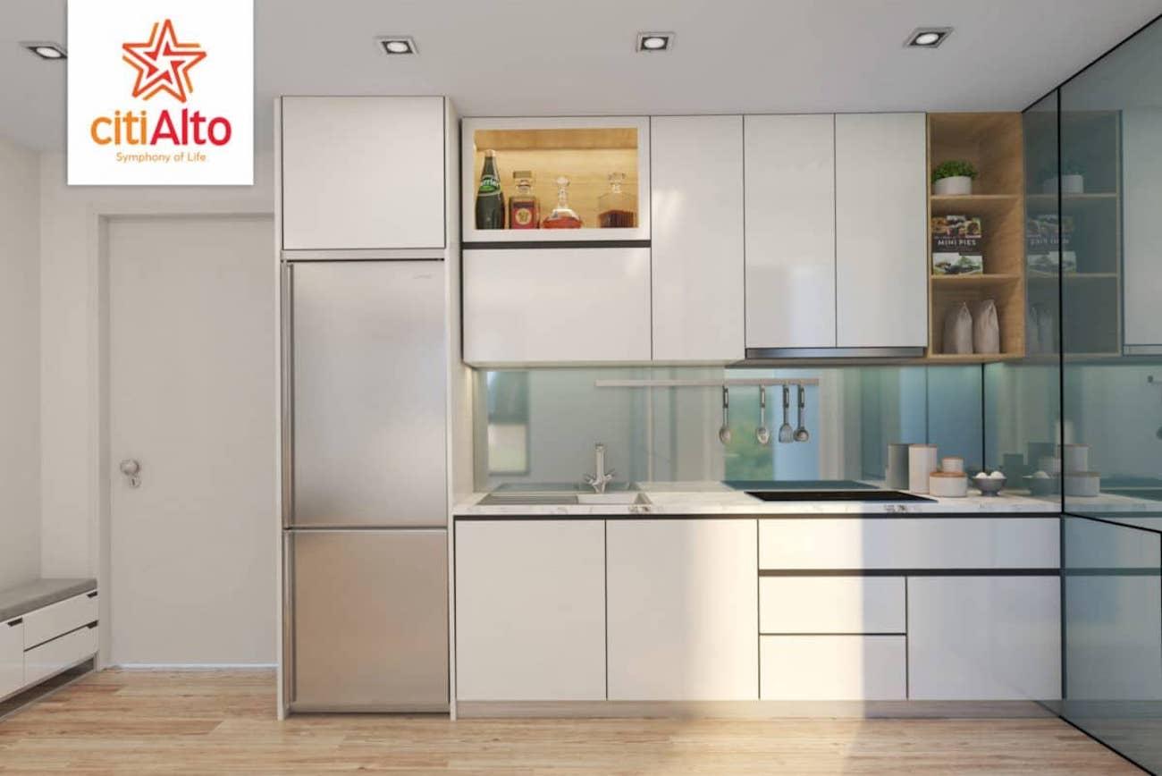 Nhà mẫu dự án căn hộ Citi Alto Quận 2