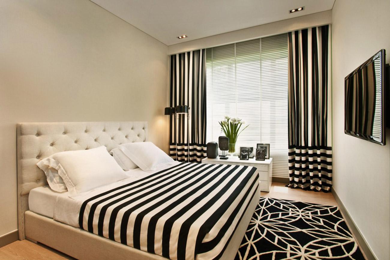 Phòng ngủ lớn tại căn hộ 2 Phòng ngủ Riviera Point