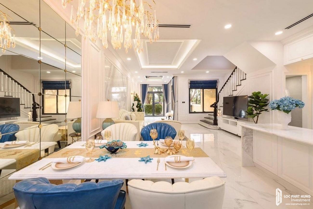 Nhà mẫu dự án nhà phố, Shophuse thương mại, biệt thự Gem Skyworld Đất Xanh Đồng Nai - Thiết kế phòng khách