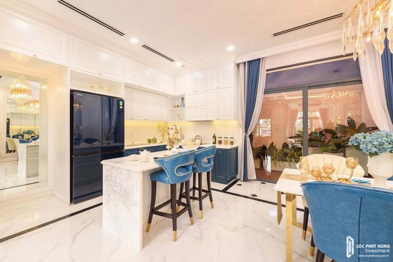 Nhà mẫu dự án nhà phố, Shophuse thương mại, biệt thự Gem Skyworld Đất Xanh Đồng Nai - Thiết kế phòng ăn