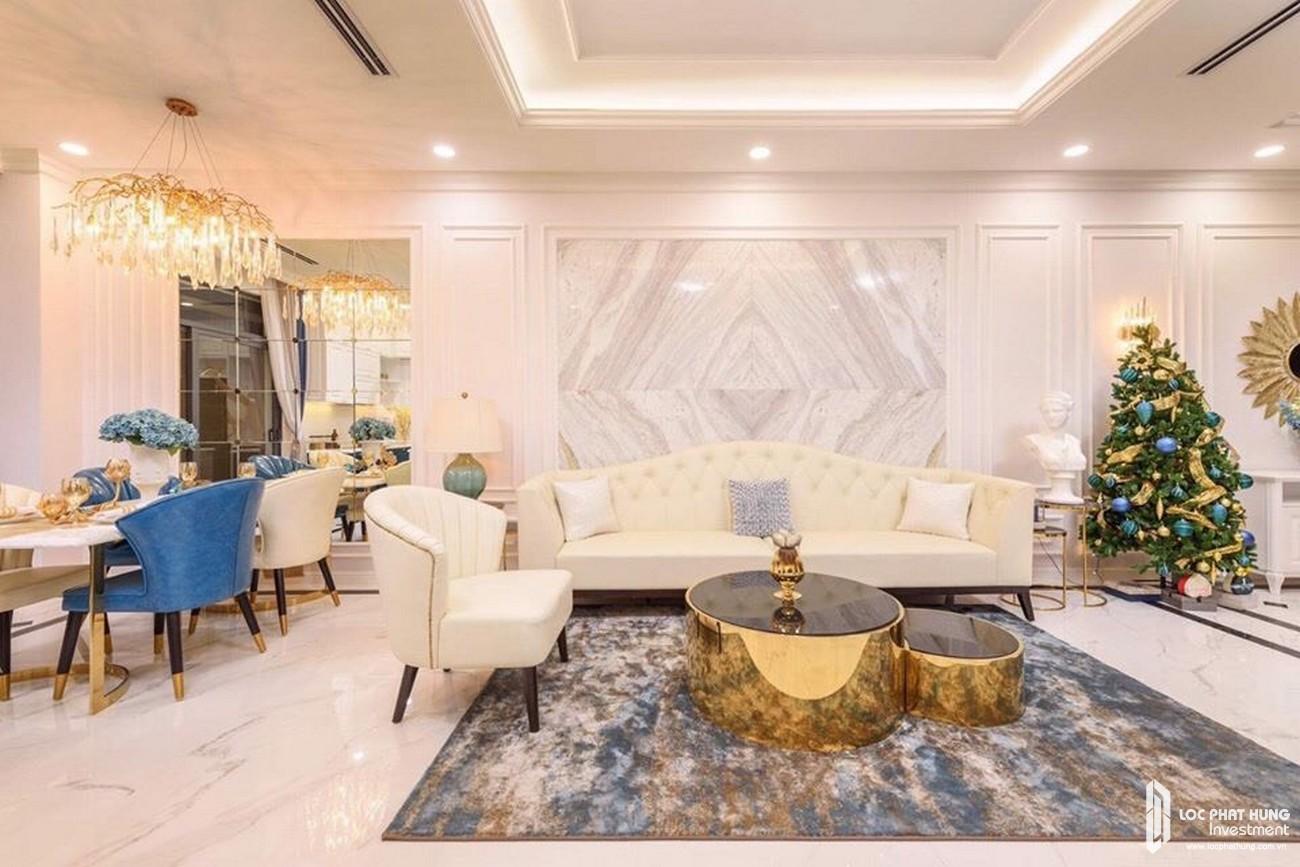 Nhà mẫu Gem Sky world Đất Xanh Đồng Nai - Thiết kế phòng khách