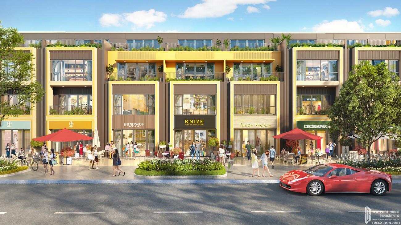 Nhà mẫu dự án nhà phố đất nền Gem Sky World Long Thành Đường Quốc Lộ 51 chủ đầu tư Đất Xanh