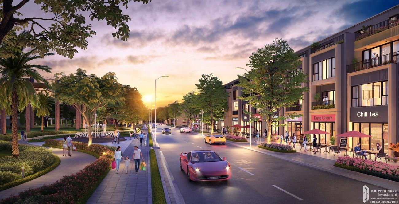 Phối cảnh dự án nhà phố, đất nền  Gem Sky World Long Thành Đường Quốc Lộ 51 chủ đầu tư Đất Xanh
