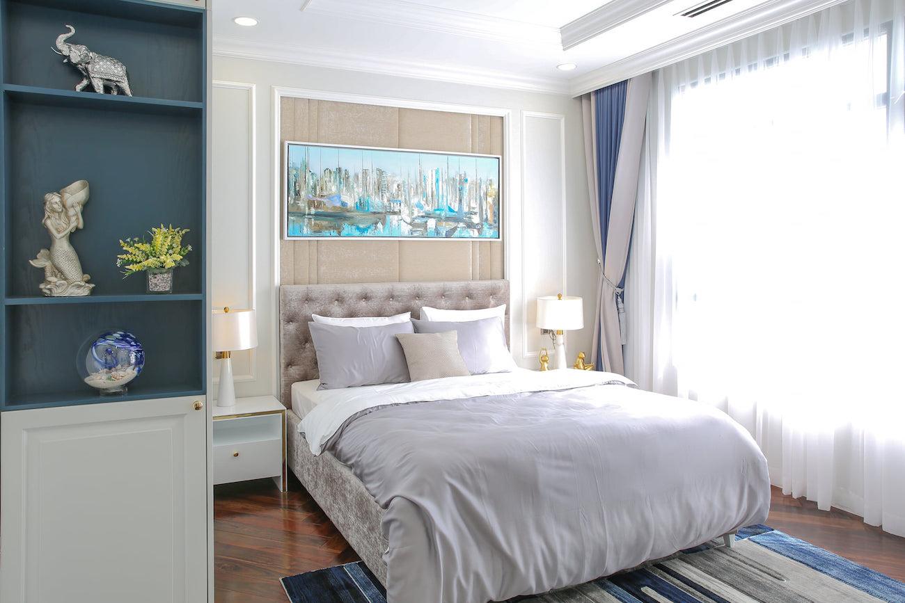 Phòng ngủ ZeitGeist GS MetroCity sẽ là nơi bạn hồi sức sau những giờ làm việc