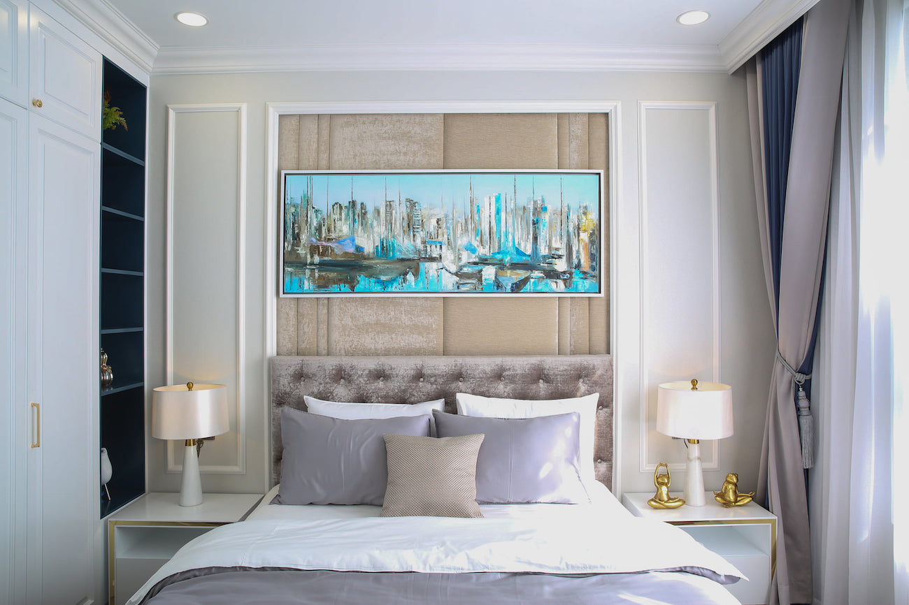 Phòng ngủ GS ZeitGeist Nhà Bè mang đến không gian sống ấm cúng