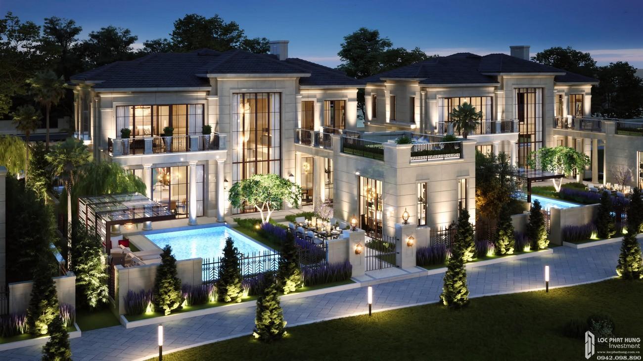Phối cảnh tổng thể dự án Nhà Phố biệt thự Swan Bay Nhơn Trạch Đường Đại Phước chủ đầu tư CFLD
