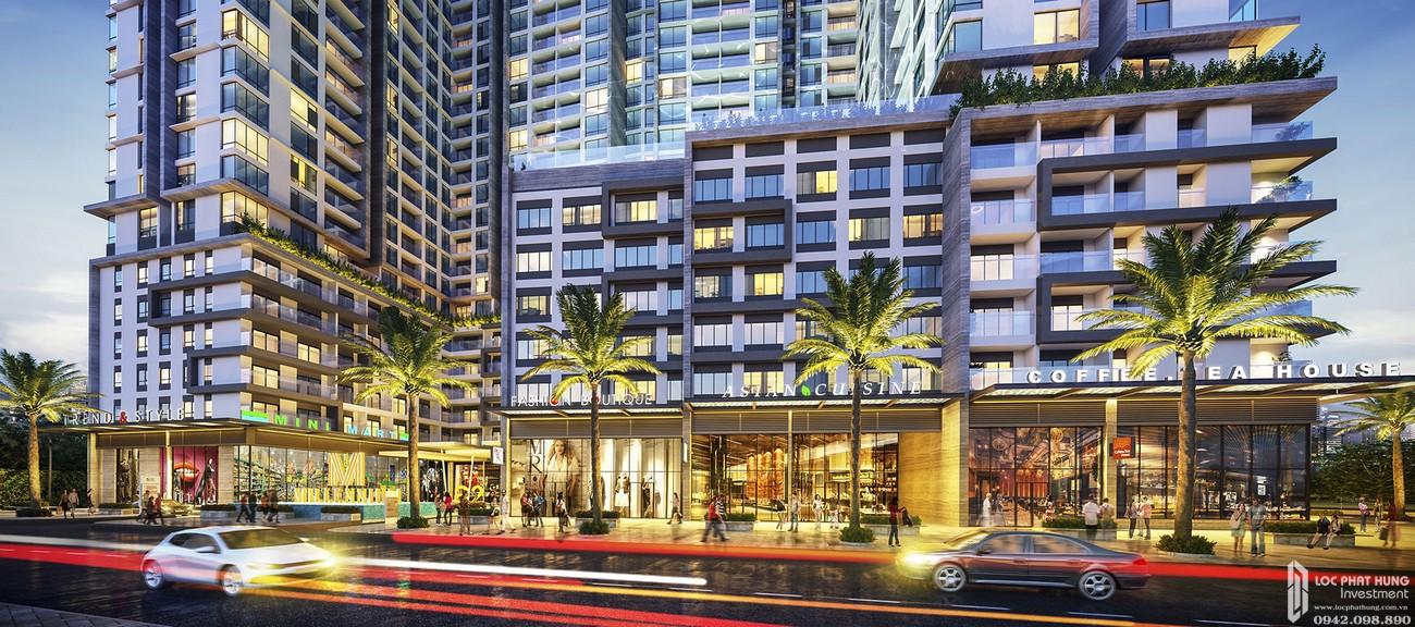 Phối cảnh tổng thể dự án căn hộ chung cư Masteri Millennium Quận 4 Đường 132 Bến Vân Đồn chủ đầu tư Thảo Điền