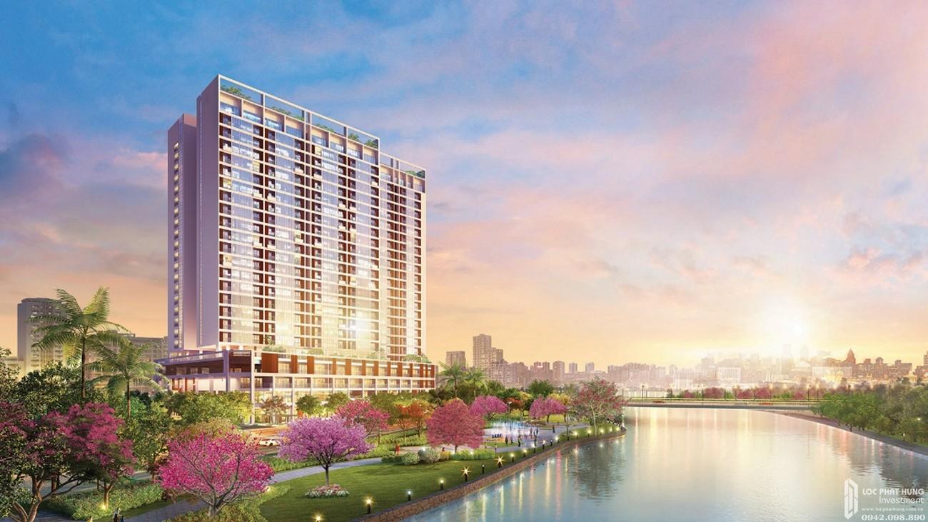 Phối cảnh tổng thể dự án căn hộ chung cư The Grande Phú Mỹ Hưng Quận 7 Đường Nguyễn Lương Bằng chủ đầu tư Phú Mỹ Hưng