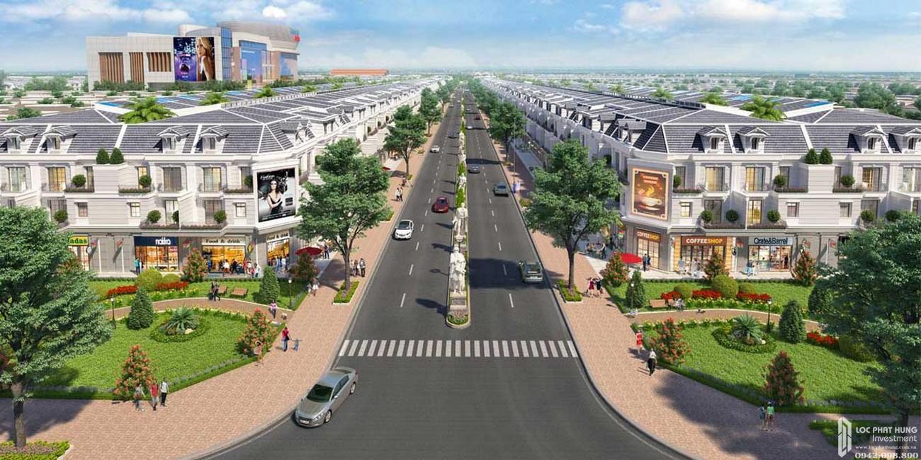 Phối cảnh tổng thể dự án đất nền Gem Sky World Long Thành Đường Quốc Lộ 51 chủ đầu tư Đất Xanh