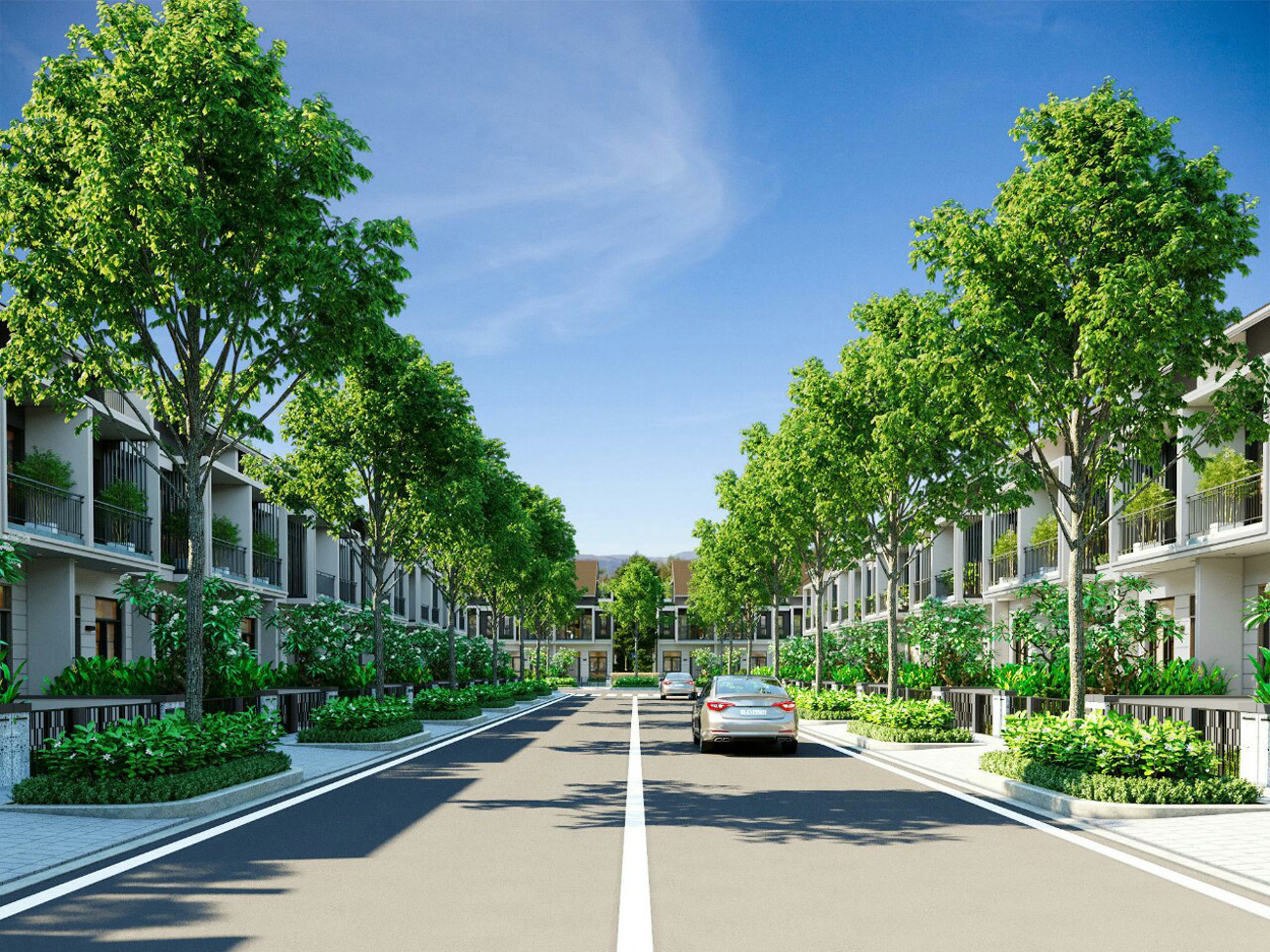 Mẫu thiết kế nhà phố, biệt thự dự án Gem Skyworld Đất Xanh Đồng Nai