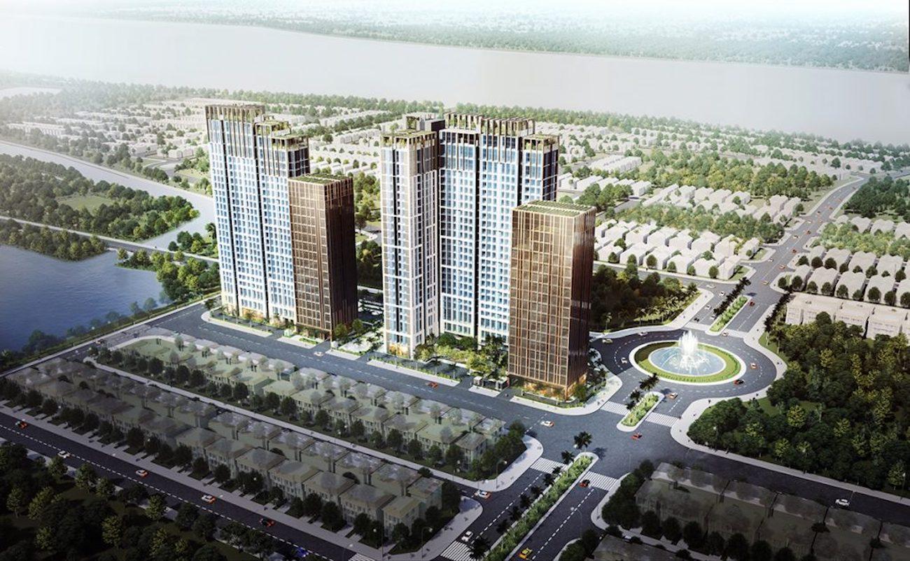 Phối cảnh tổng thể dự án căn hộ Citi Alto Quận 2
