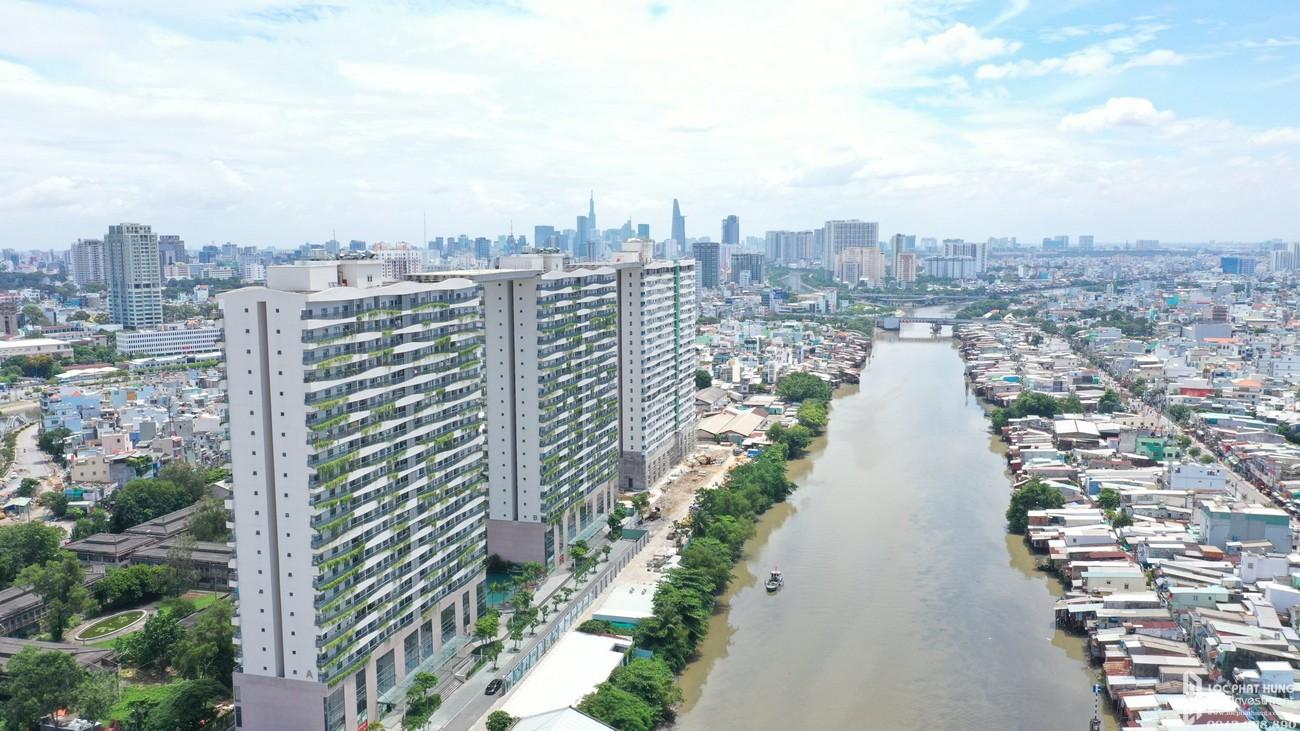 Phối cảnh tổng thể dự án căn hộ Diamond Lotus Riverside Quận 8
