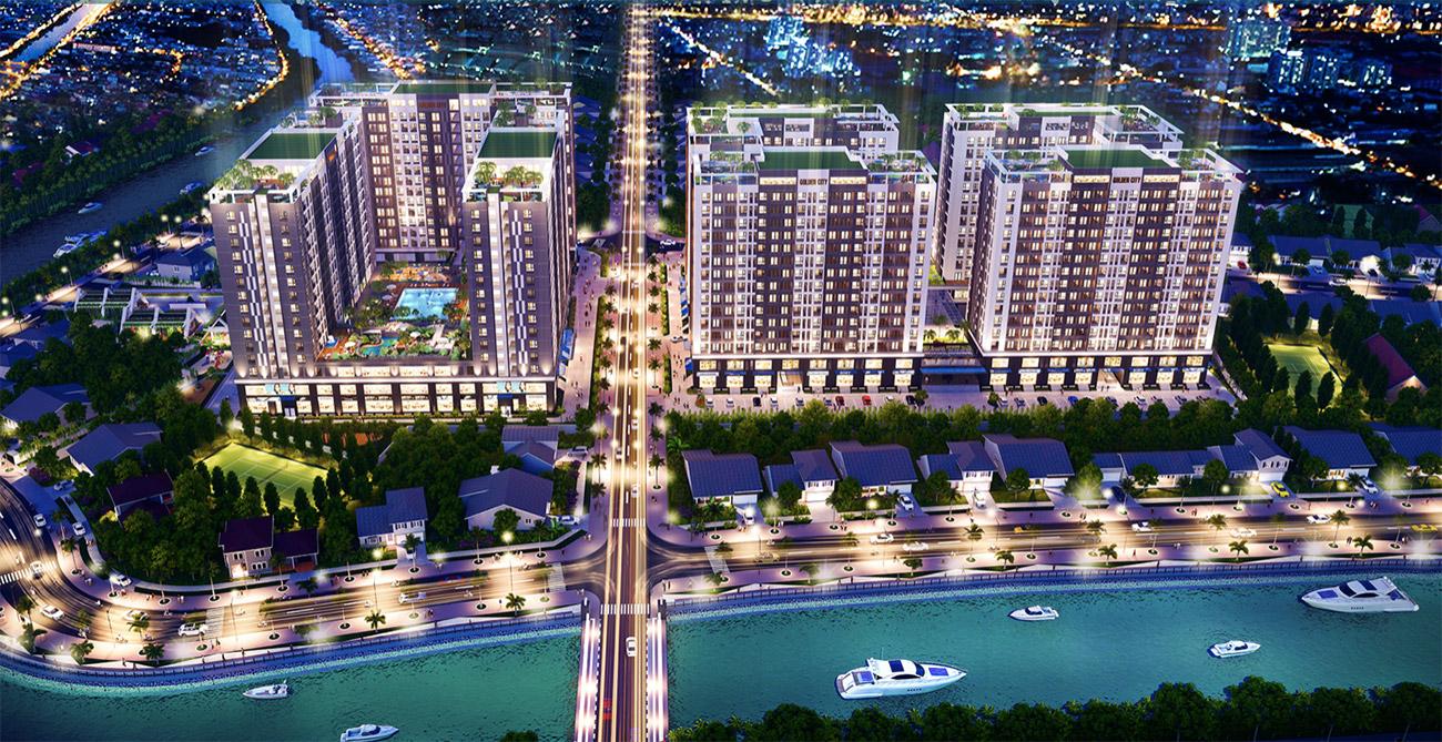 Tổng thể dự án căn hộ Tây Ninh Golden City