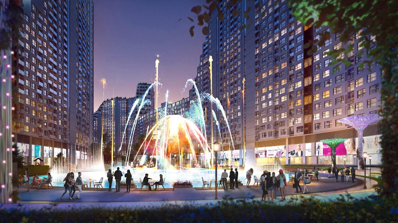 Quảng trường ánh sáng tại Marina Park