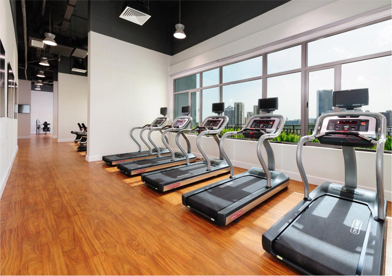 Phòng tập Gym hiện đại tại Riviera Point