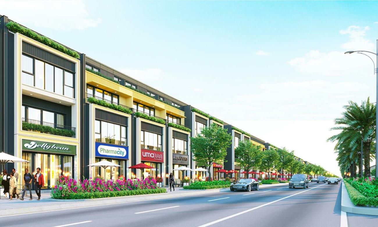 Mẫu thiết kế nhà phố thương mai, biệt thự dự án Gem Skyworld Đất Xanh Đồng Nai