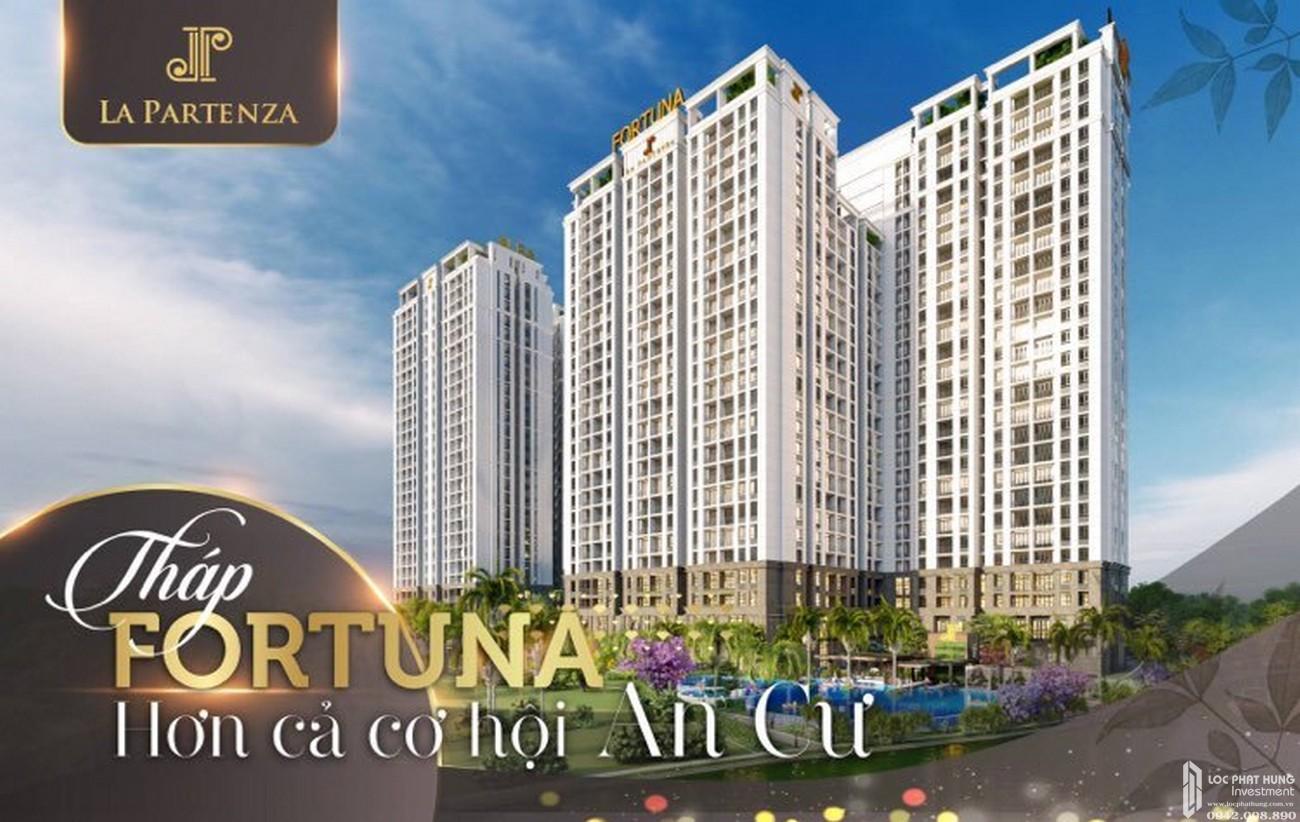 Tháp Fortuna dự án căn hộ La Partenza Nhà Bè