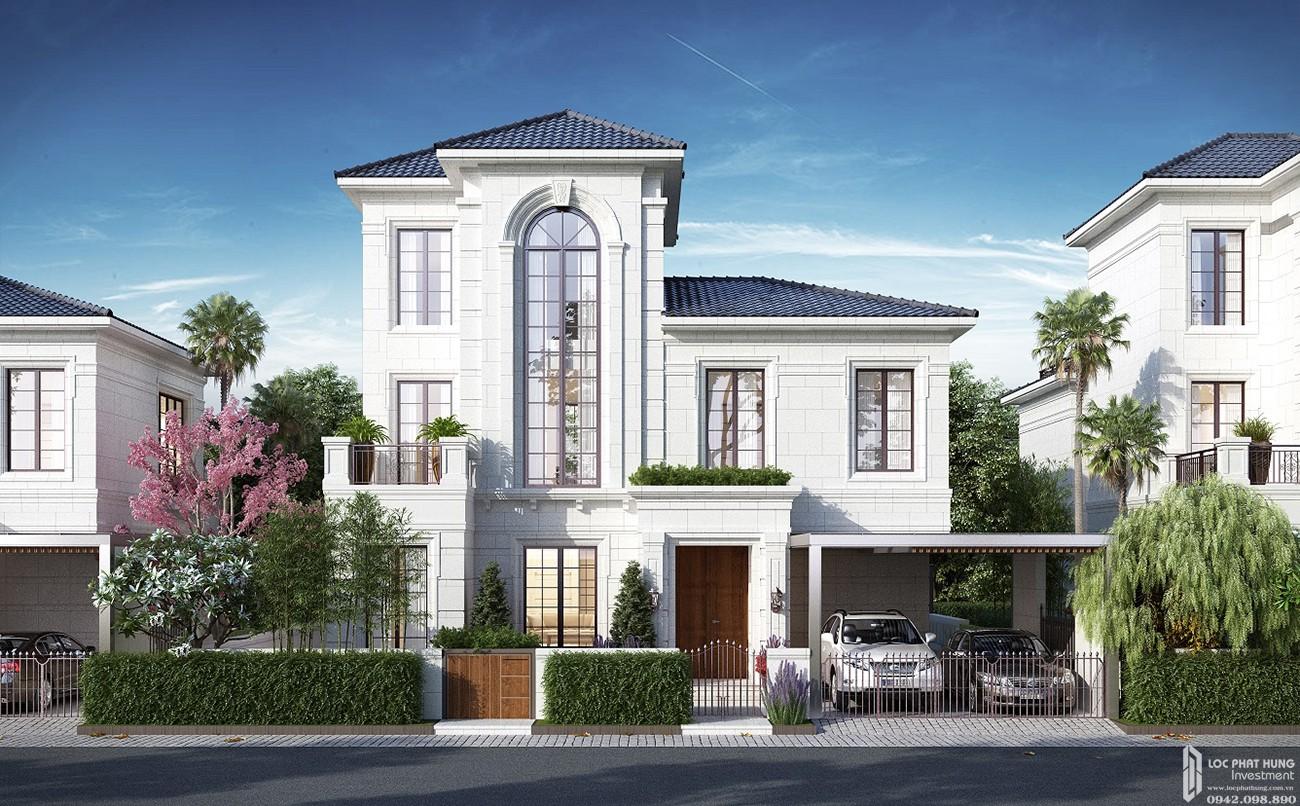 Thiết kế biệt ven sông Nhà Phố biệt thự Swan Bay Nhơn Trạch Đường Đại Phước chủ đầu tư CFLD
