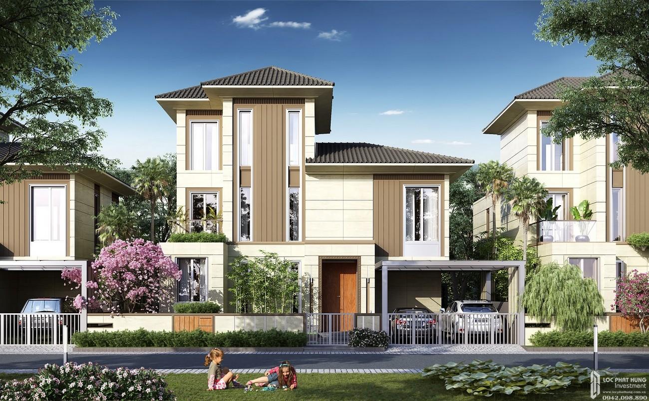 Thiết kế biệt thự cảnh quan dự án Nhà Phố biệt thự Swan Bay Nhơn Trạch Đường Đại Phước chủ đầu tư CFLD