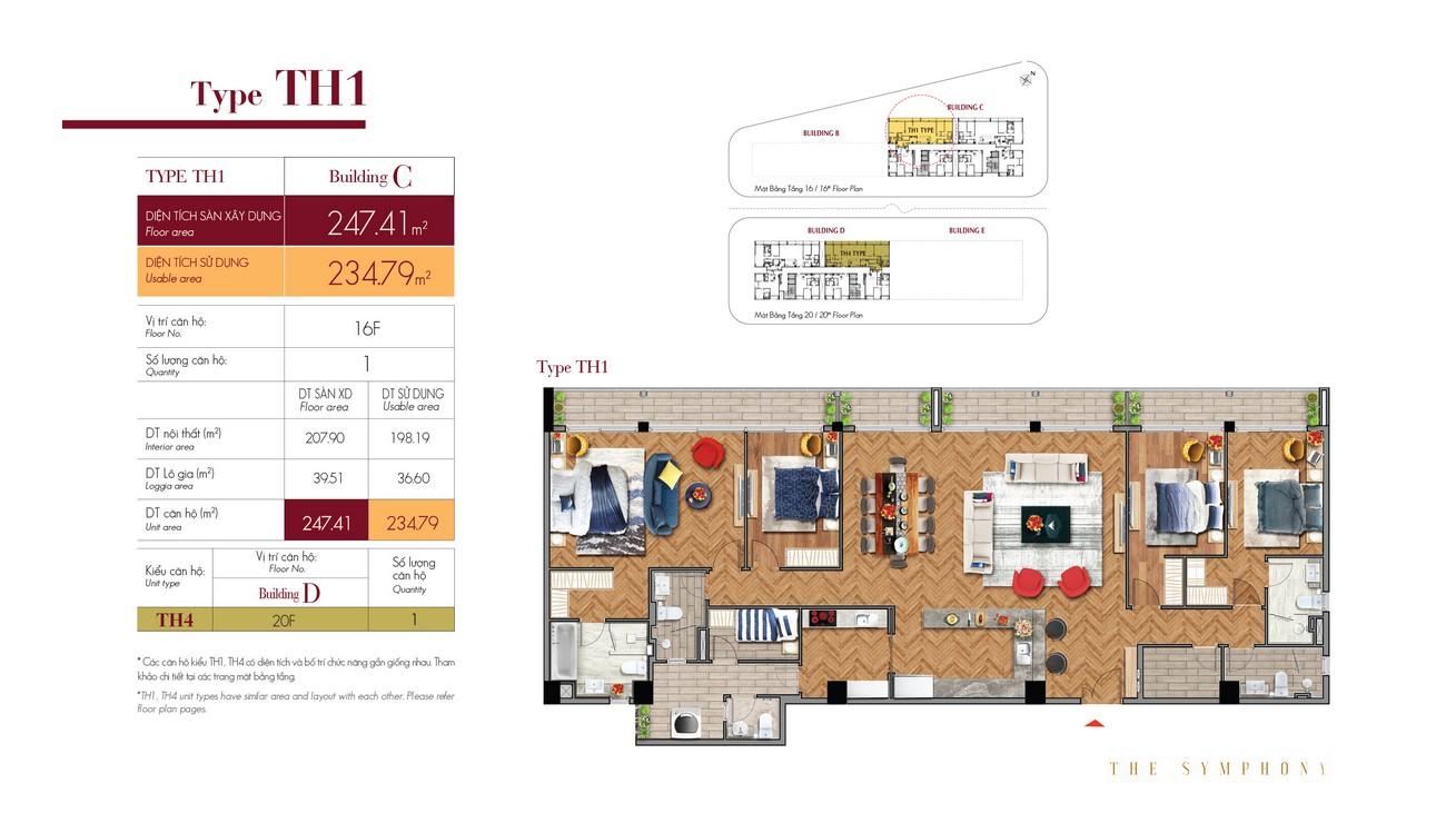 Thiết kế dự án căn hộ chung cư The Symphony Phú Mỹ Hưng Quận 7 Đường Đường 16 chủ đầu tư Phú Mỹ Hưng