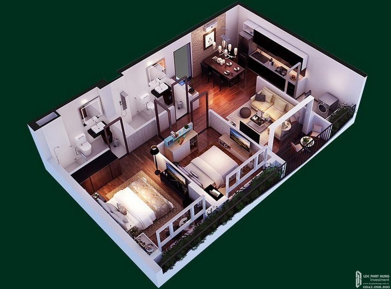 Thiết kế dự án căn hộ Diamond Lotus Riverside Quận 8