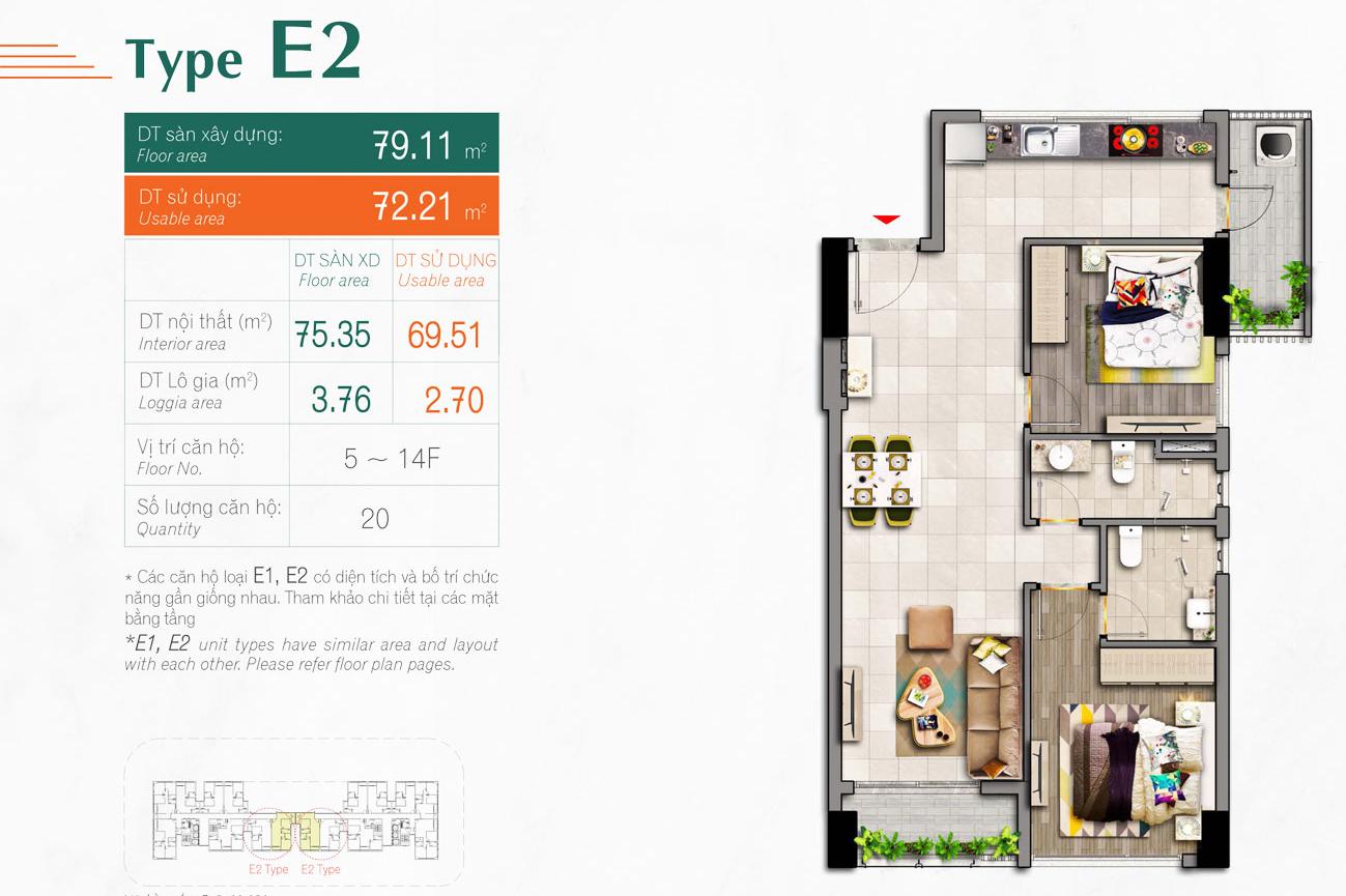 Thiết kế dự án căn hộ Happy Residence Premier Quận 7