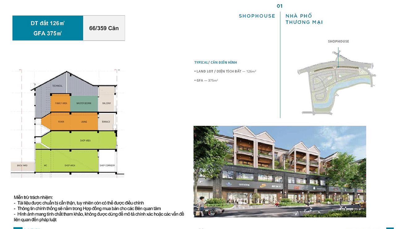 Ý tưởng thiết kế các căn Town House zeitgeist City
