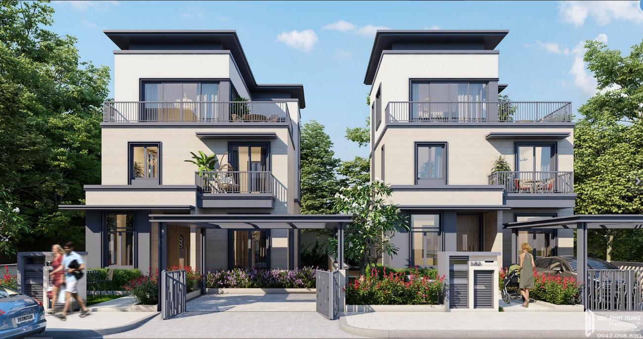Thiết kế Biệt Thự Cát Tường Swan Park Nhơn Trạch Đường Đường số 7 chủ đầu tư CFLD