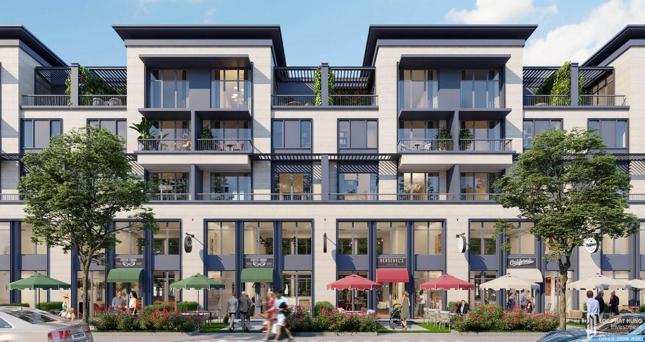 Thiết kế Nhà Phố  Thương Mại Swan Park Nhơn Trạch Đường Đường số 7 chủ đầu tư CFLD