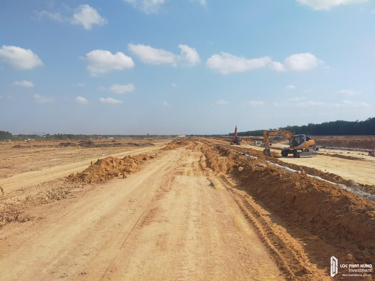 Tiến độ xây dựng dự án nhà phố, biệt thự, Shophouse dự án Gem Skyorld Đồng Nai tháng 04/2020