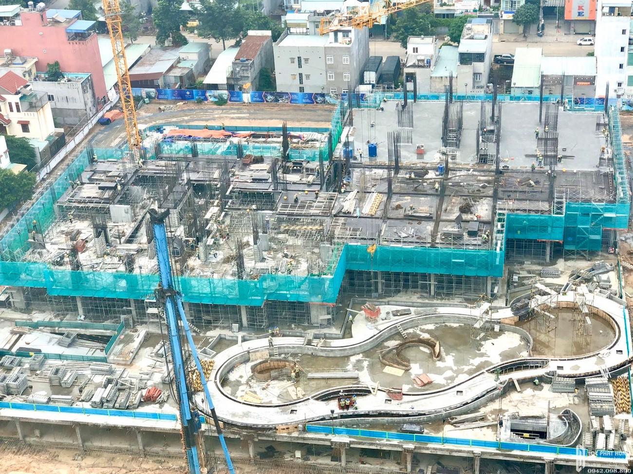 Tiến độ dự án căn hộ chung cư Charm City Bình Dương Đường DT743 chủ đầu tư DCT GROUP 12/04/2020