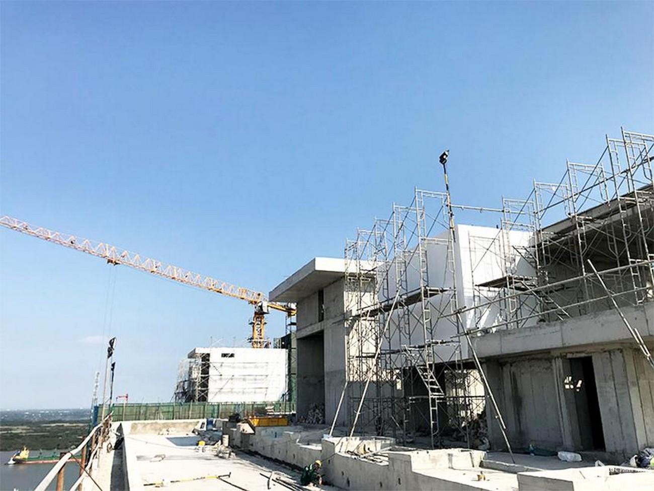 Tiến độ dự án căn hộ chung cư River Panorama Quận 7 Đường Hoàng Quốc Việt chủ đầu tư An Gia Investment 04/2020