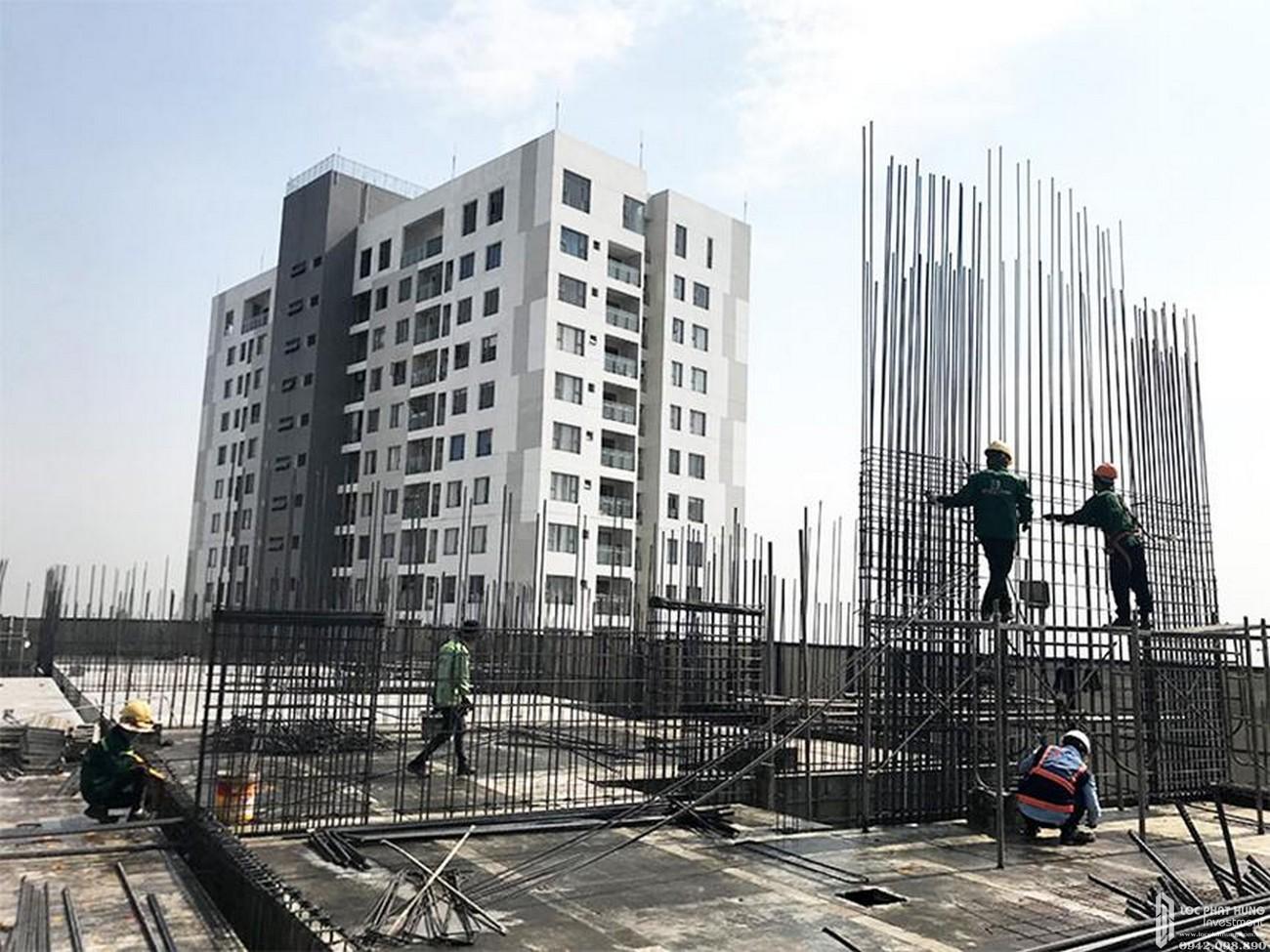Tiến độ dự án căn hộ chung cư Sky 89 Quận 7 Đường Hoàng Quốc Việt chủ đầu tư An Gia Investment 04/2020