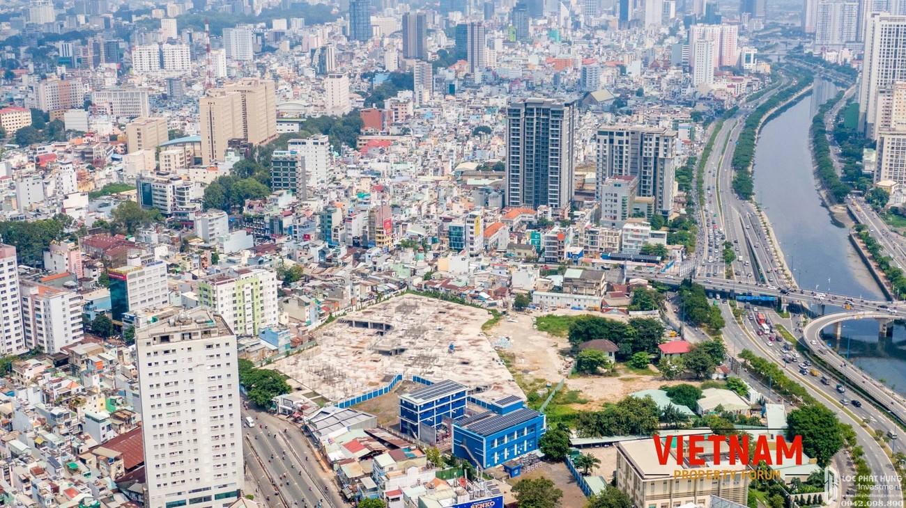 Tiến độ Dragon Riverside City Quận 5 Đường Võ Văn Kiệt chủ đầu tư Phú Long 04/2020