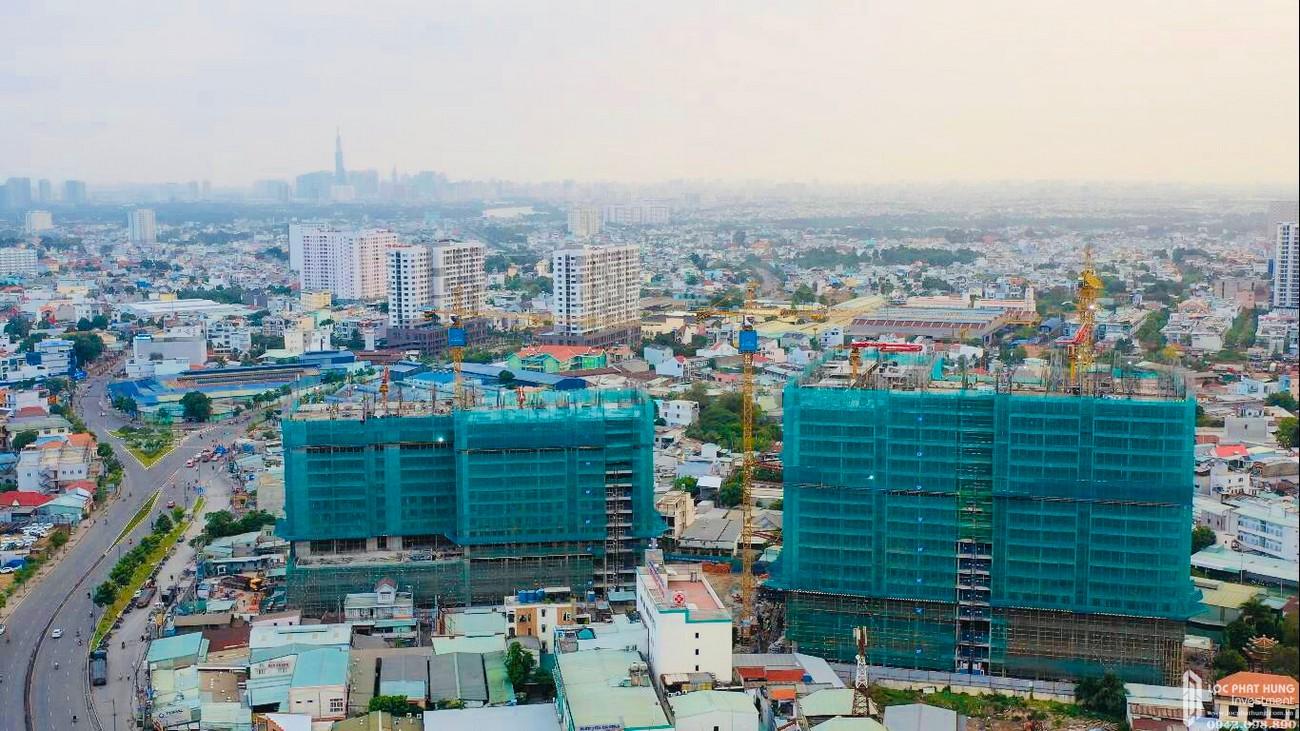 Tiến độ Opal Boulevard Dĩ An Đường Phạm Văn Đồng chủ đầu tư Đất xanh Group 04/2020