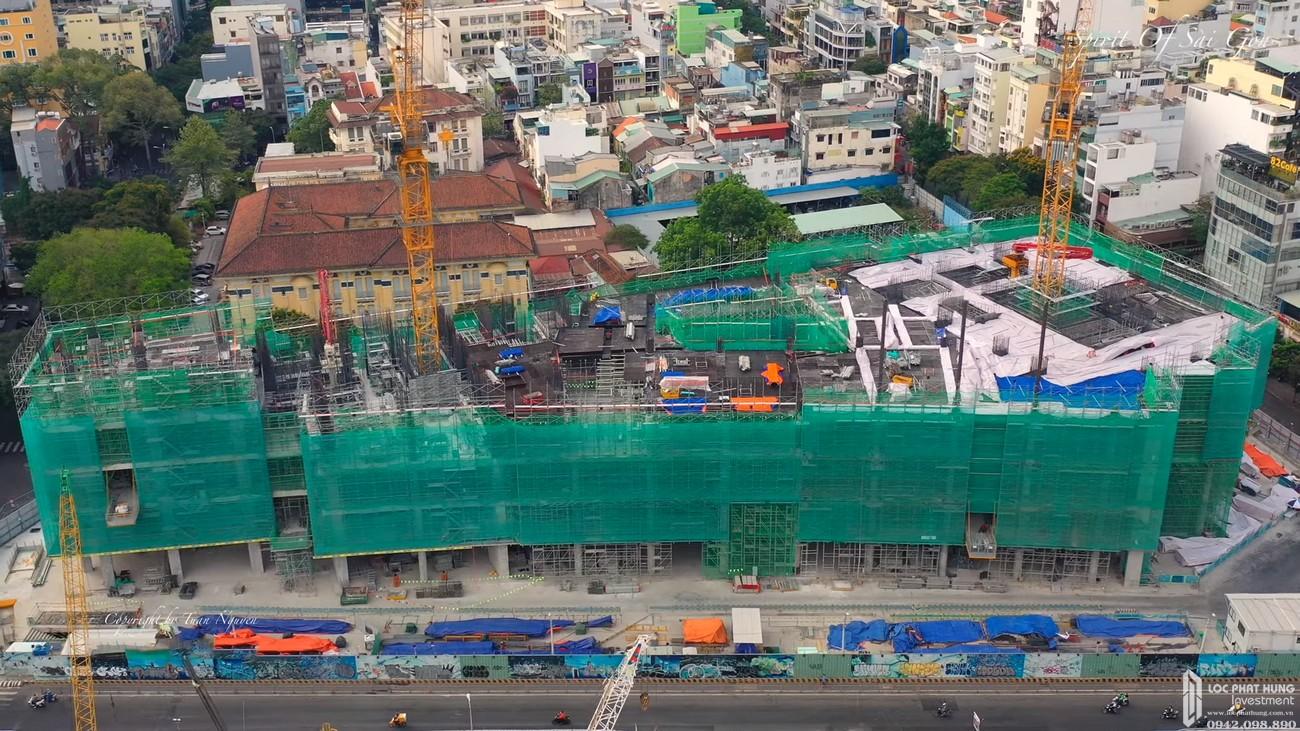 Tiến độ The Spirit Of Saigon Quận 1 Đường 1 Phạm Ngũ Lão chủ đầu tư Bitexco 24/04/2020