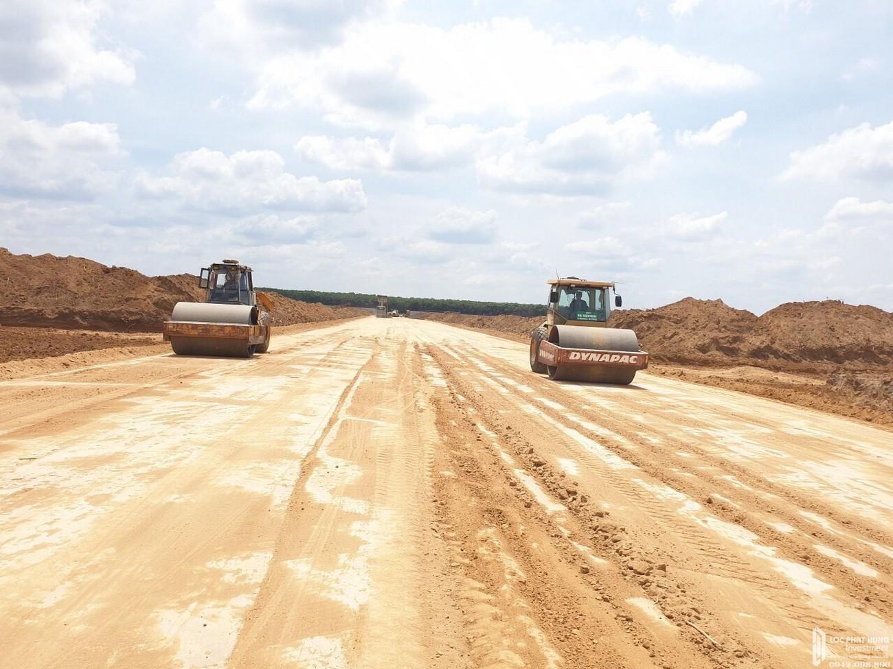 Tiến độ dự án đất nền Gem Sky World Long Thành Đường Quốc Lộ 51 chủ đầu tư Đất Xanh 23/04/2020