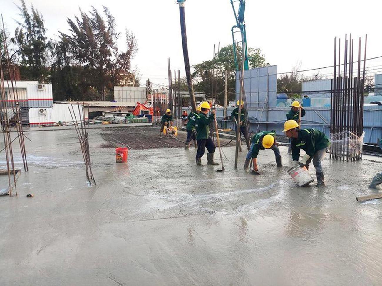 Tiến độ xây dựng dự án căn hộ condotel The Sóng Vũng Tàu tháng 04/2020