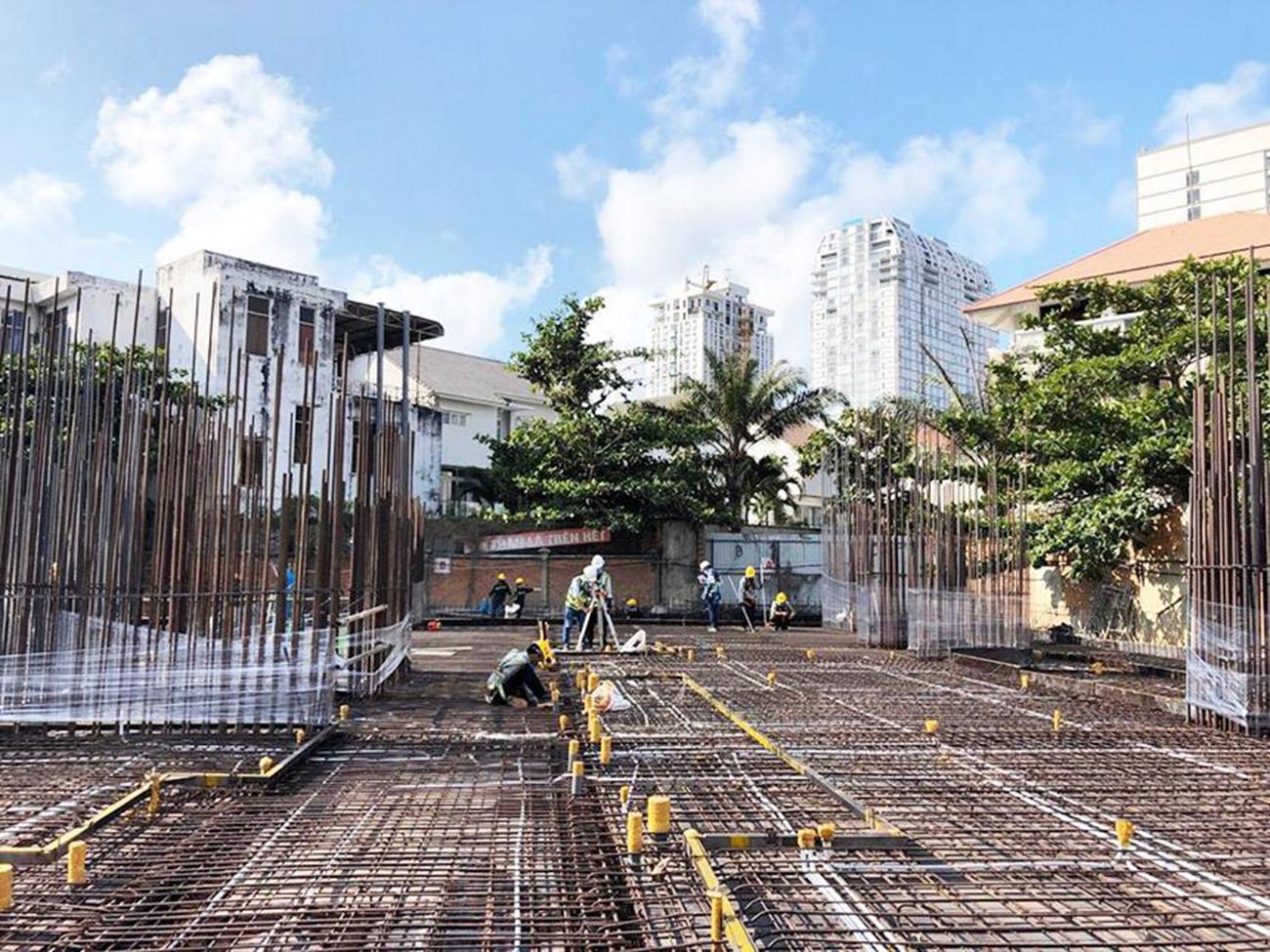 Tiến độ xây dựng dự án The Sóng Tháng 04/2020