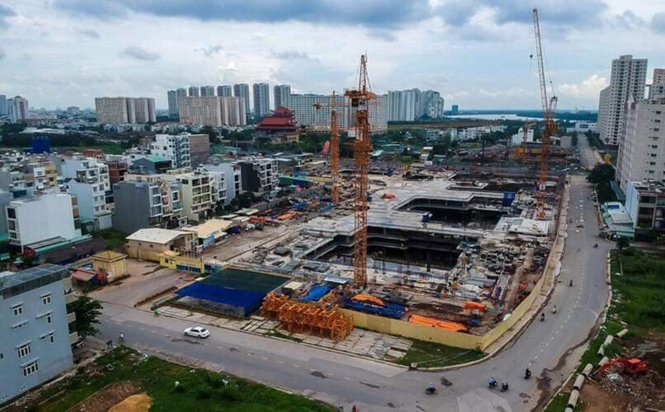 Tiến độ xây dựng dự án căn hộ Laimian City