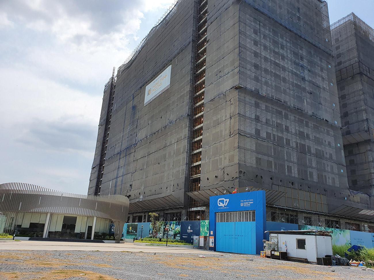 Tiến độ dự án căn hộ Q7 Boulevard chủ đầu tư Hưng Thịnh Corp