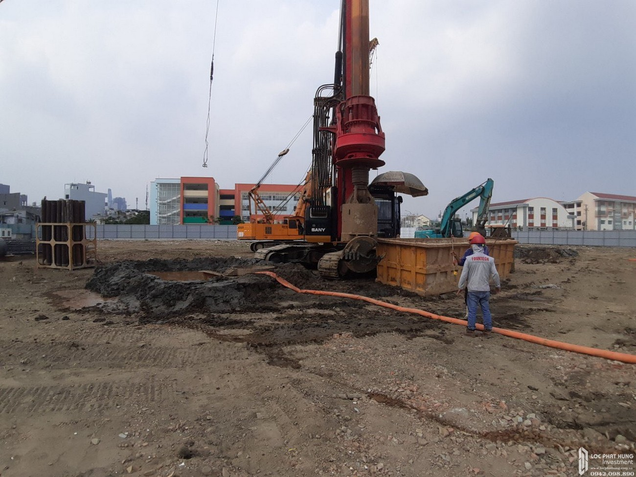 Tiến độ xây dựng dự án căn hộ Sunshine Horizon Quận 4 tháng 03/2020
