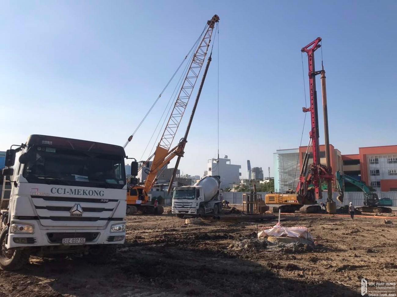 Cập nhật tiến độ xây dựng dự án căn hộ Sunshine Horizon Quận 4 tháng 03/2020