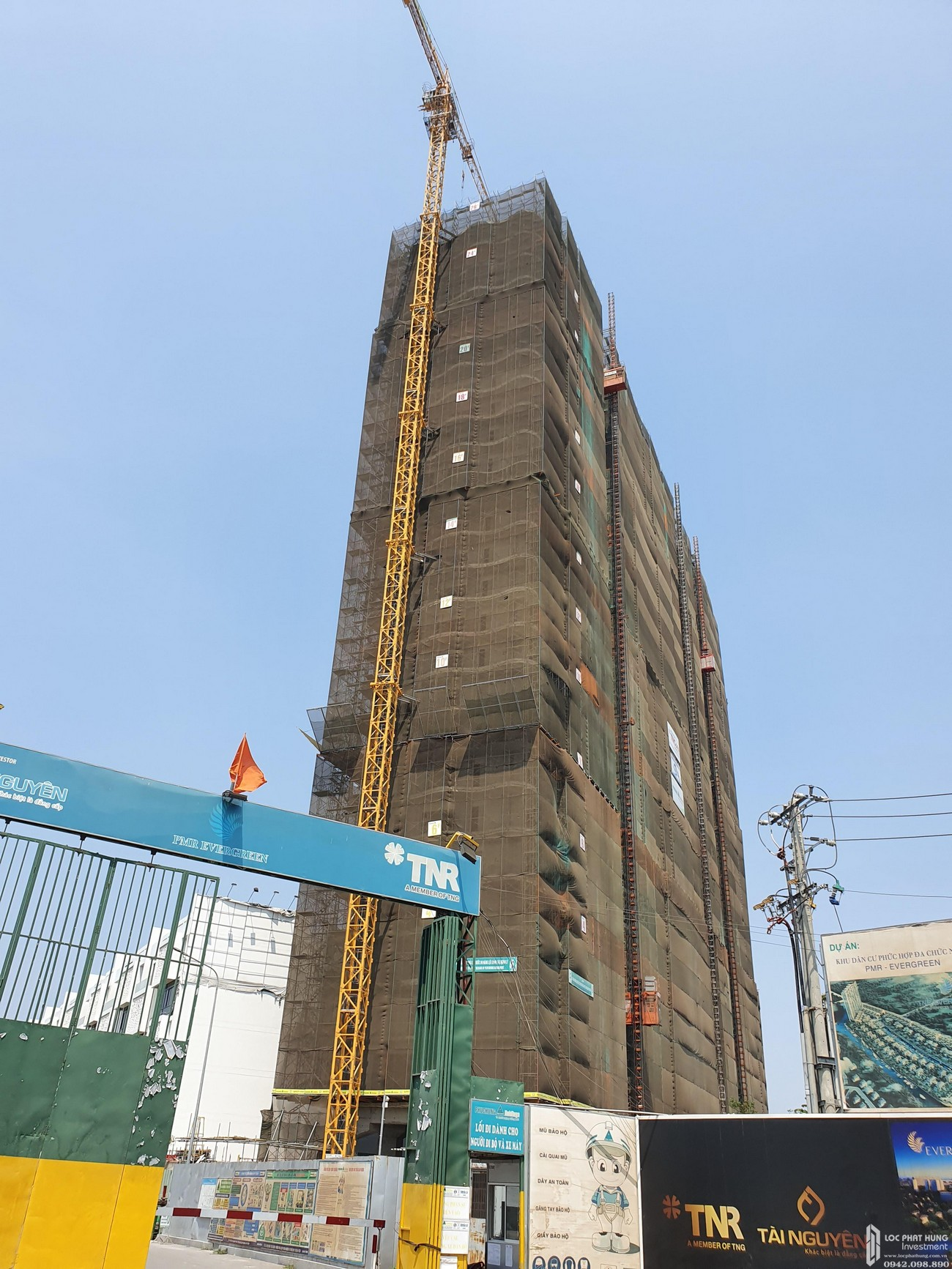 Tiến độ xây dựng dự án căn hộ TNR Viva Panorama Tháng 04/2020