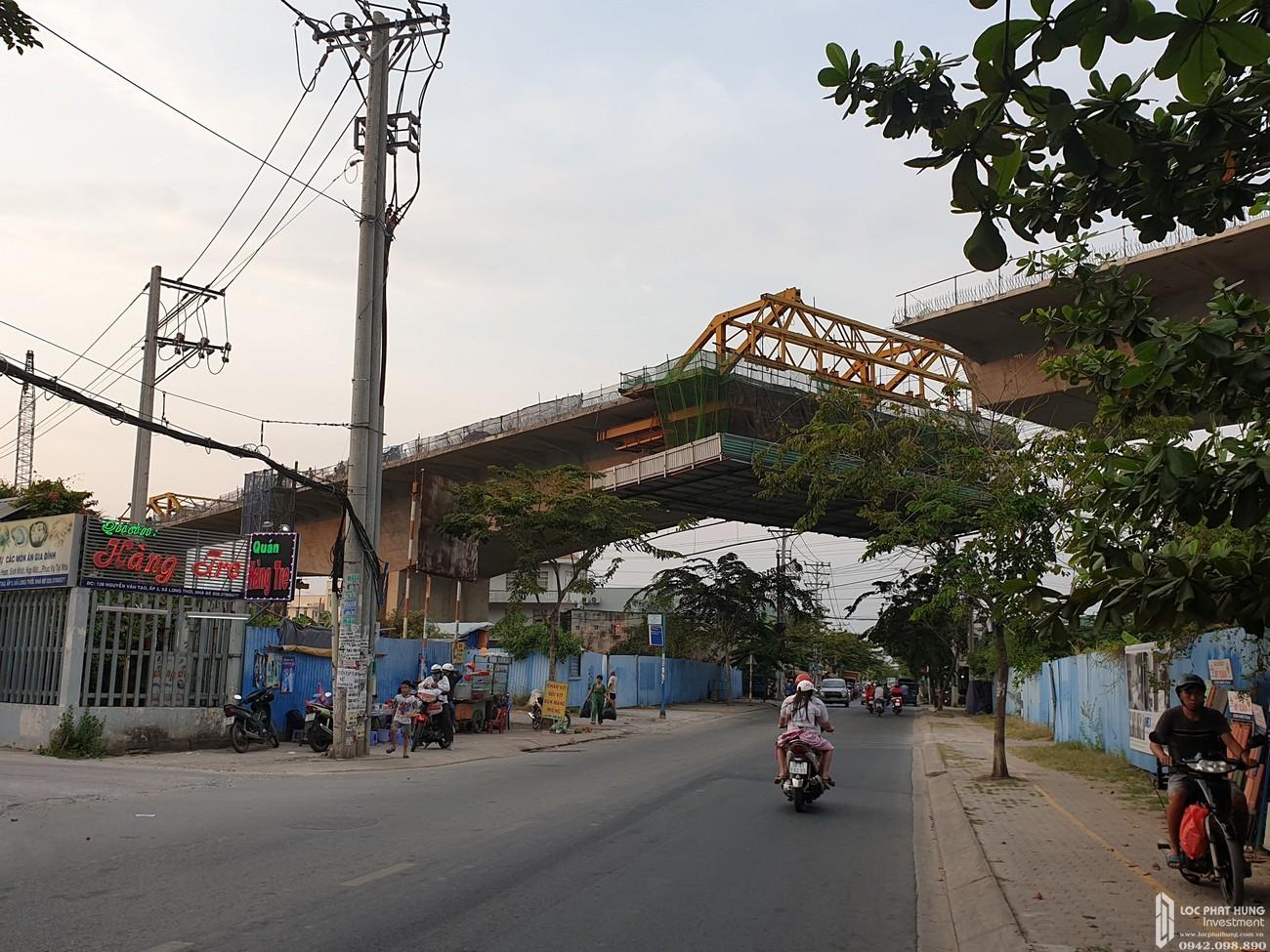Tiến độ xây dựng dự án căn hộ Zeitgeist Nhà Bè 02/2020